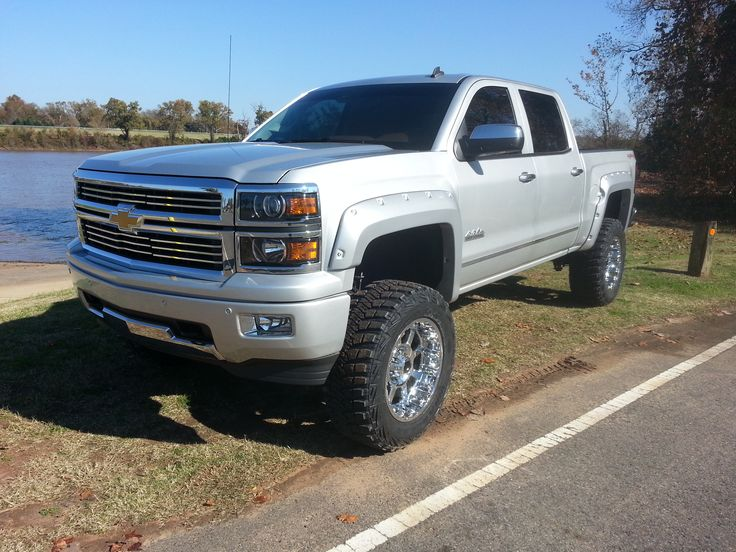 silver silverado lifted images - photo #24