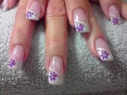 decoracion de uñas con flores - Buscar con Google