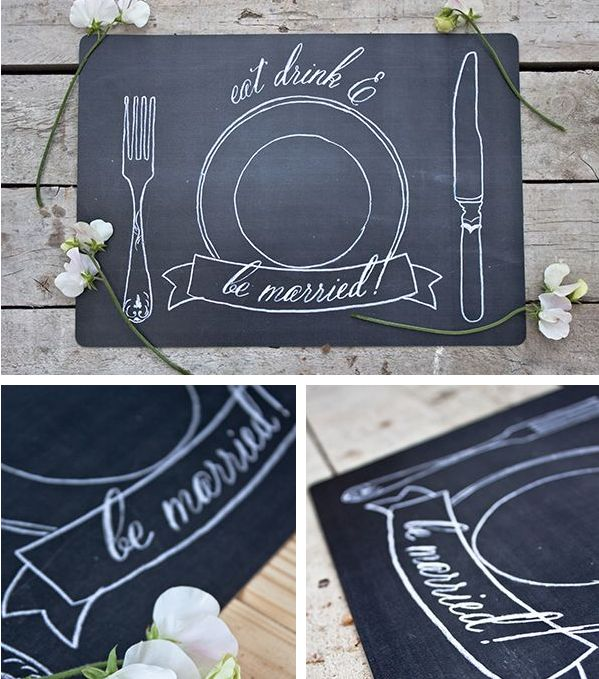 Placemats   31 Free Wedding Printables Every Bride-To-Be Should Know About