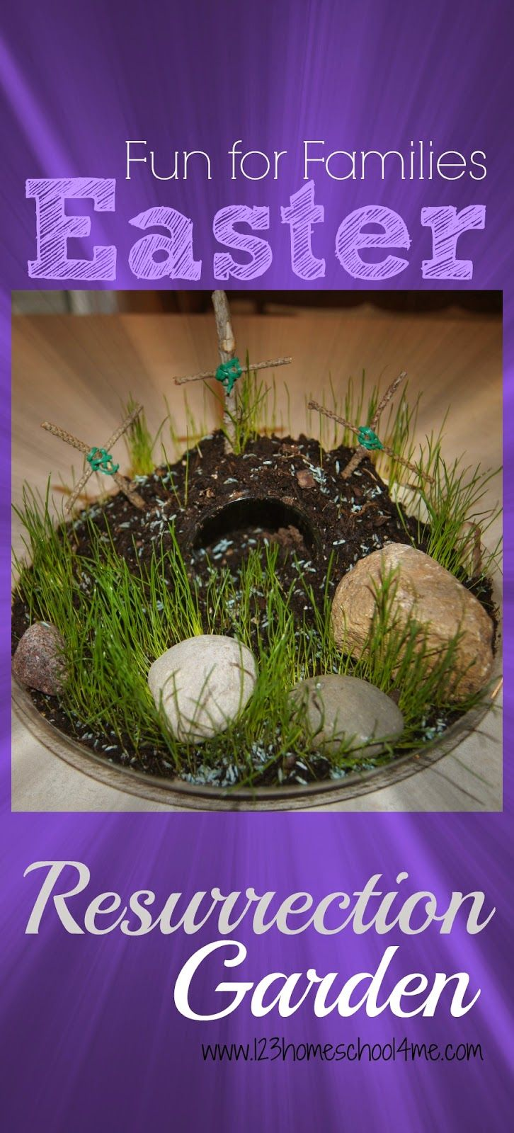 Religious easter yard decorations - Easter Resurrection Garden Is A Fun Meaningful Family Activity Easy To Make With Step