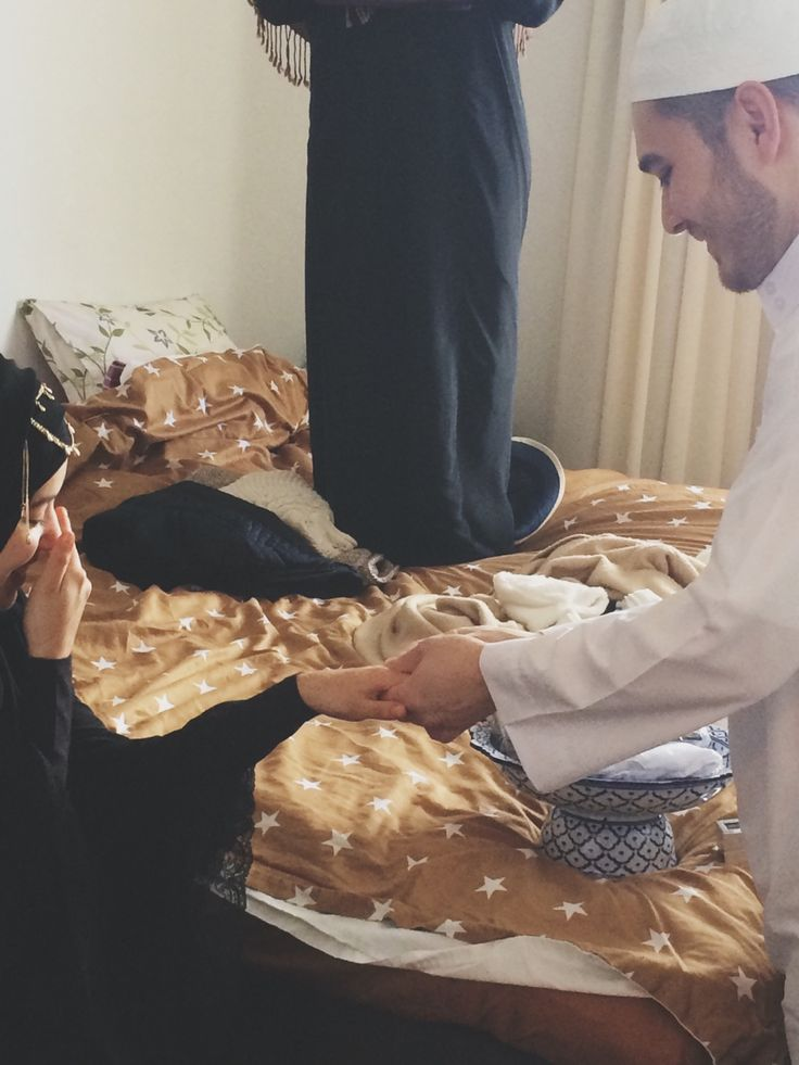 Masha'Allah !! May Allah Bless their marriage ♥