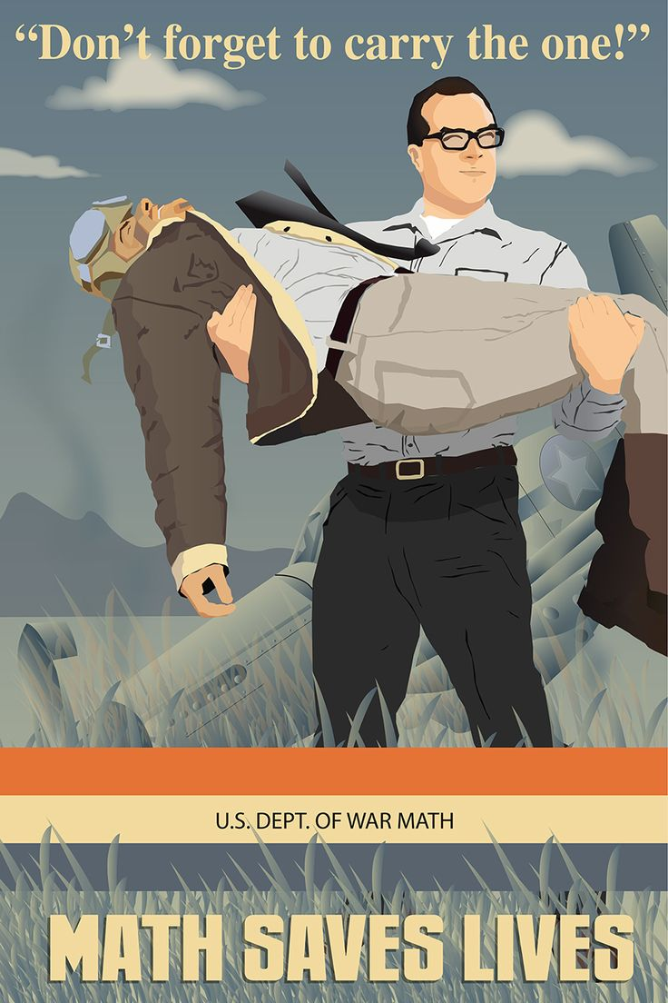 Department of War Math! Great talk by David McRaney. Illustration by Brad Clark
