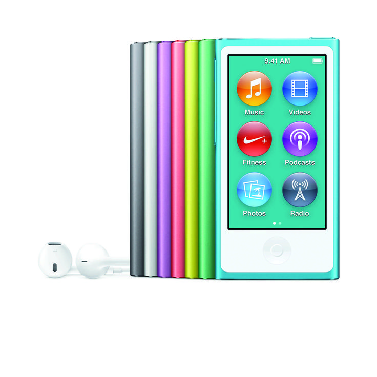 iPod nano- Tap play then go ~ the loving way to enjoy good loving rocking music for all family members !