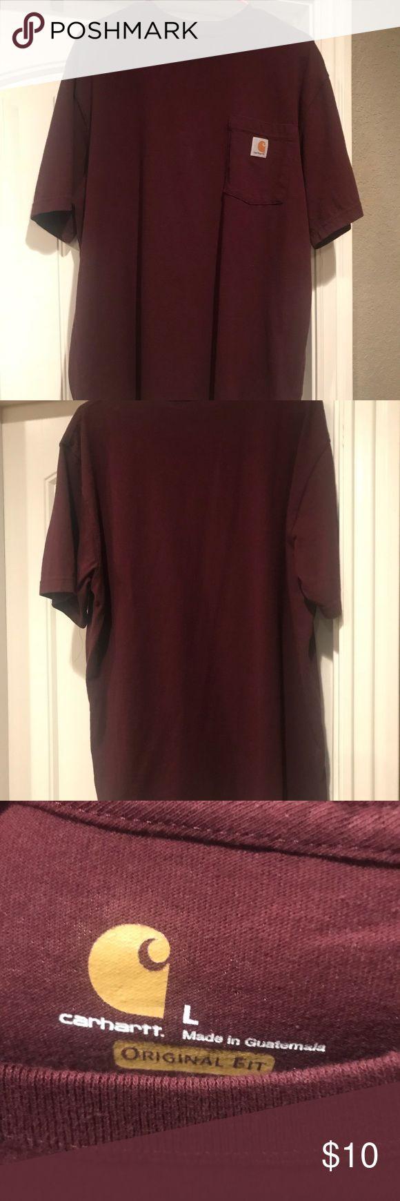 Carhartt Short Sleeve Shirt (L) Carhartt Short Sleeve Shirt (L) Size large Smoke free home Never worn Carhartt Shirts Tees - Short Sleeve