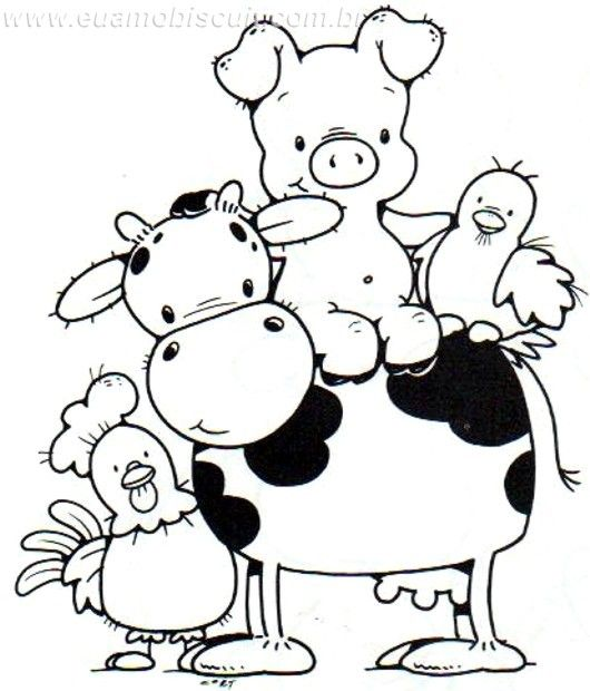 farm animal alphabet coloring pages - photo#25