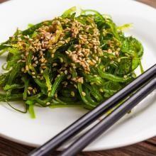 Get Nutrition Diva's recipe for delicious, healthy seaweed salad.