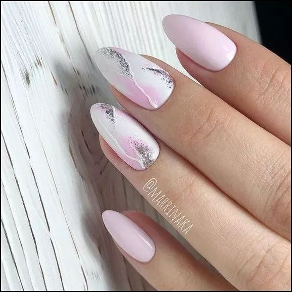 160+ Best Natural Square Nails für Sommernägel – Seite 16 | homein … – Nageldesign