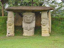 San Agustín es una población y municipio de Colombia ubicado en el sur del Departamento de Huila. Ubicado a una altura de 1 730 metros sobre el nivel del mar en las estribaciones del macizo colombiano, en este municipio se encuentra la laguna del magdalena que da nacimiento al río del mismo nombre, siendo este el río mas importante de Colombia.