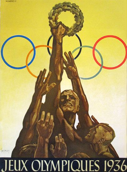Jeux Olympiques 1936 Olympic Games Berlin 1