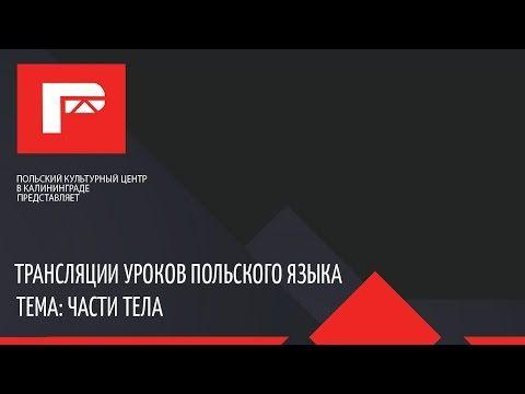 Урок польского языка (части тела) - YouTube