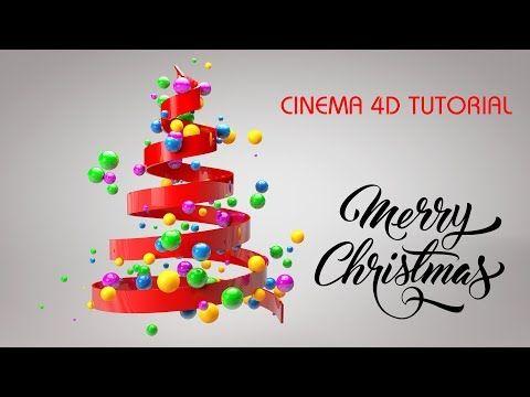 Christmas Tree Animation in Cinema 4D Tutorial | C4D Tutorial - YouTube