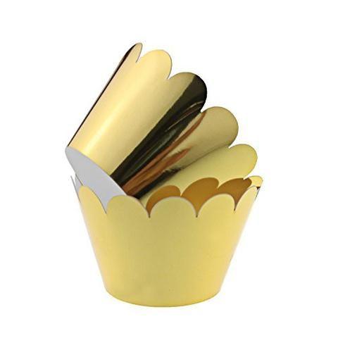 Gold Foil Dessert Cup - Pack of 12