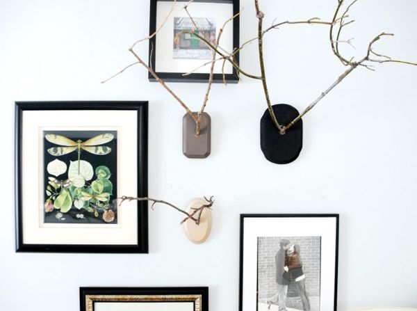 Home and Delicious: DIY: nature, natur one the wall
