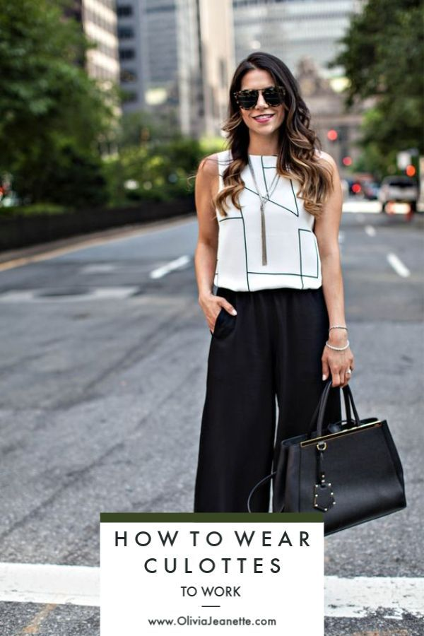 71cdcd69dc4 How to Wear Culottes to Work