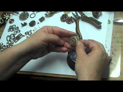 Great overview on how to make steampunk jewelry