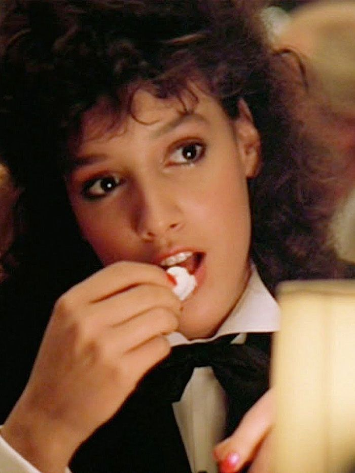 "Jennifer Beals en ""Flashdance"", 1983"