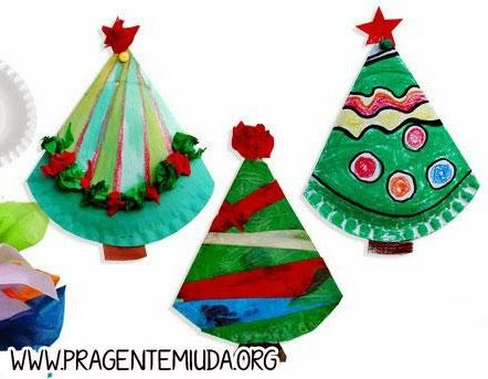 Simple paper plate Christmas Tree craft for December!  sc 1 st  Pinterest & 87 best paper plate crafts images on Pinterest | Paper plates ...