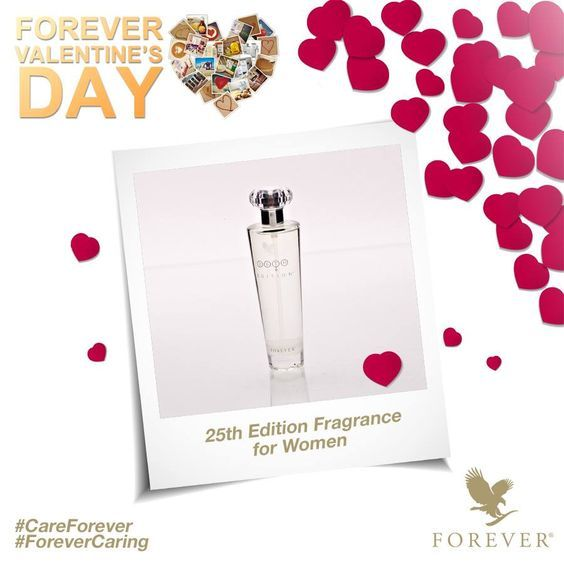 25TH Edition® for Women is a fresh, white floral bouquet that blends sheer petals with warm, musky woods to create a soft and deep feminine character. http://360000339313.fbo.foreverliving.com/page/products/all-products/7-personal-care/208/usa/en  Need help? http://istenhozott.flp.com/contact.jsf?language=en Buy it http://istenhozott.flp.com/shop.jsf?language=en