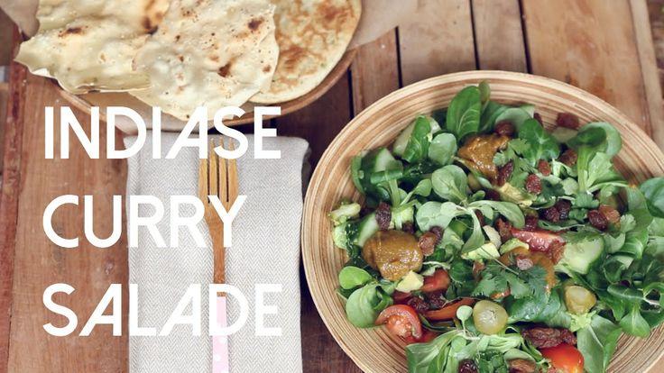 Indiase Curry Salade | De Groene Meisjes