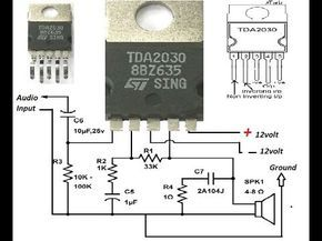 How To Make An Amplifier 200 Watts Using Stk4141 With Diagram