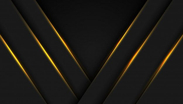 Abstract Black Gold Frame Sport Concept Innovation In 2021 Gold Frame Abstract Abstract Backgrounds