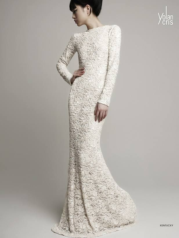 Sophisticated YolanCris Wedding Dresses 2014 Collection