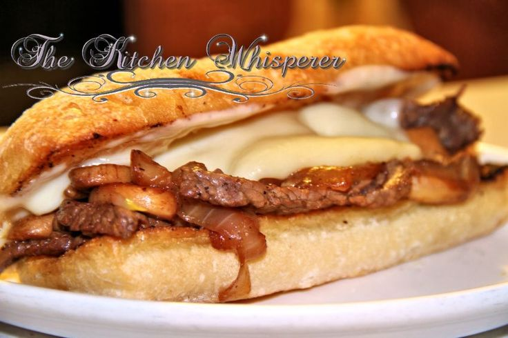 Philly Cheese Steak - The Kitchen Whisperer