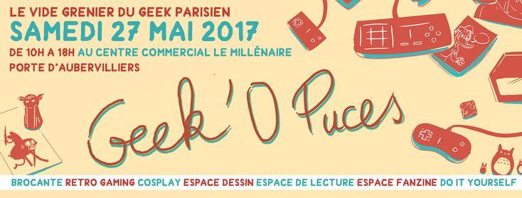 On a décidé de faire un tour au vide grenier du Geek Parisien Geek'O'Puces le 27 mai à partir de 14h... Guettez les pirates !