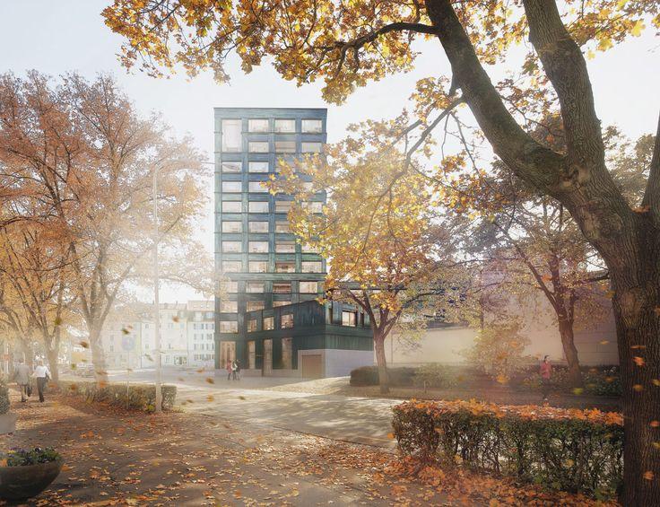 Projekt: Hochhaus Birmensdorferstrasse - Fischer Architekten AG