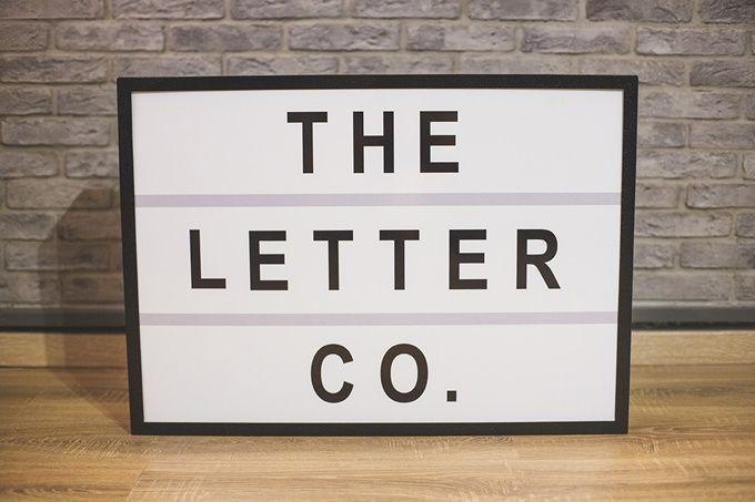Φώτισε το γάμο σου με τη The Letter Co. | The Wedding Tales Blog