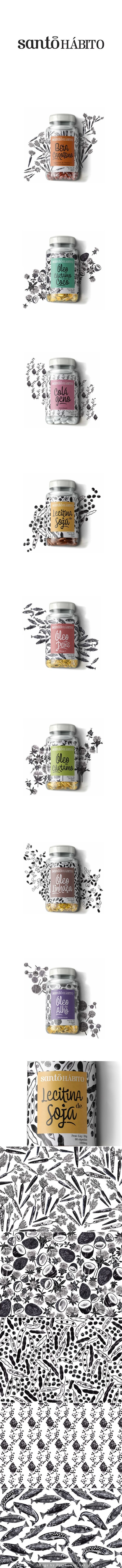 Dietary supplement / vitamin #packaging design. I love the black & white print and product photography.