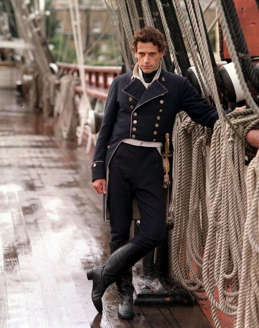 Ioan Gruffudd in Hornblower based on the book by C S Forrester. A fabulous television series.