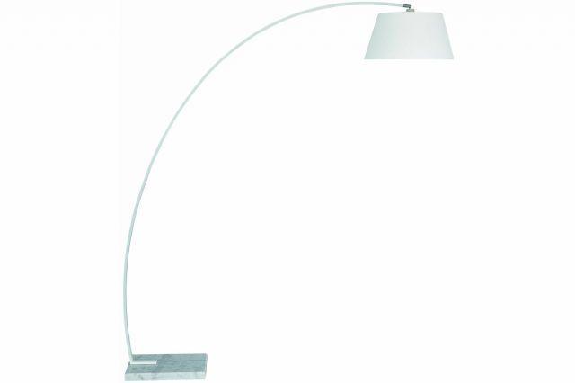 Lampa med marmorfot