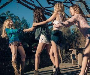 Gigi Hadid, Barbara Palvin, Emily Didonato and Lottie Moss for Rosa Chá 2015 Campaign.