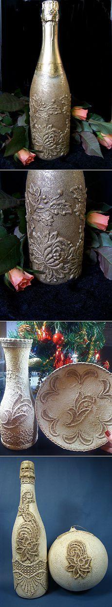 декор в стиле венецианского кружева