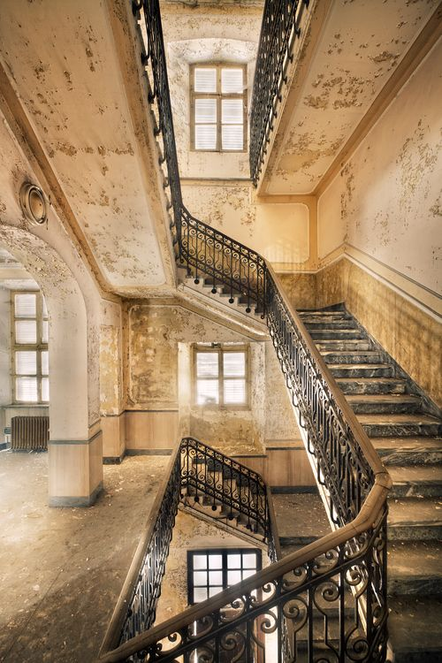 Love abandoned places and the architecture, by Sven FennemaOld Buildings, Hospitals Photography, Urban Decay, Beautiful Places, Abandoned Buildings, Architecture, Staircas, Abandoned House, Abandoned Places