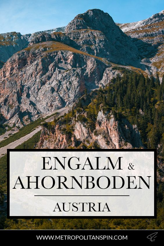 Planning a trip to Austria? Check out the Engalm and the Ahornboden! #engalm #ahornboden #austria #europe #travel