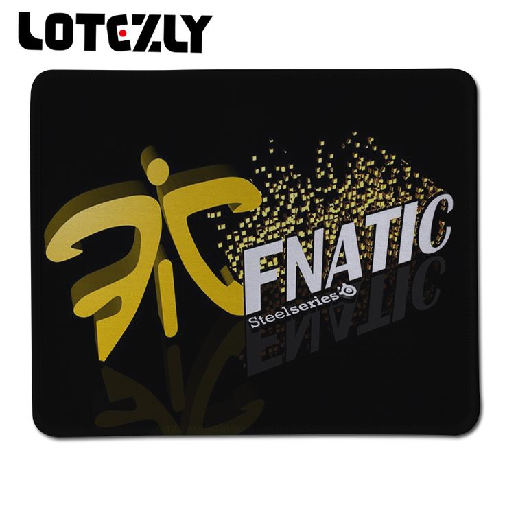 Hot Sale Fnatic Logo Gaming Mouse Pad Boy Gifts Large Stitched Edge Pad to Mouse Notebook Computer Mousepad Gamer Mice Play Mats