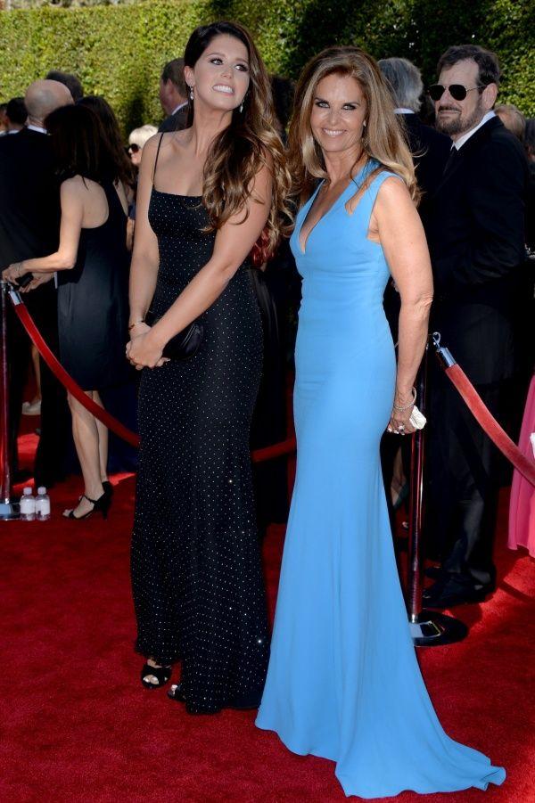 Katherine Schwarzenegger with her mother Maria Shriver