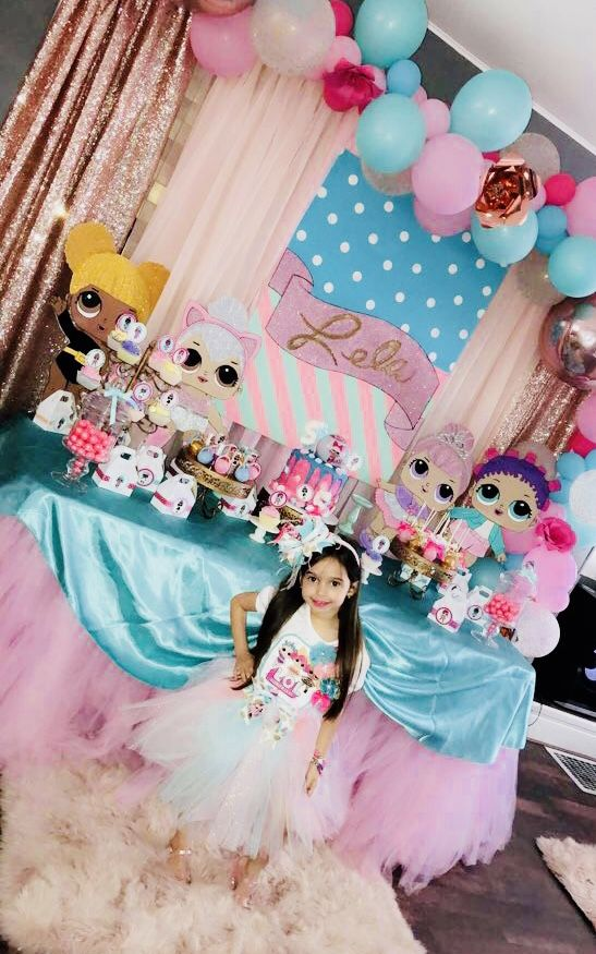 Lol Surprise Dolls Birthday Party Birthday Party Ideas