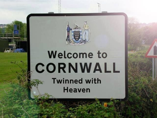 #Welcome to #Cornwall @Margot D.S. Hill Cornwall gals at heart