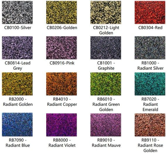 Acrylic Pmma One Sided Chunky Glittering Sheets 2 5mm Thickness 1 10 16 Colors 3 Sizes Available Acrylic Sheets Craft Supplies Surface Finish