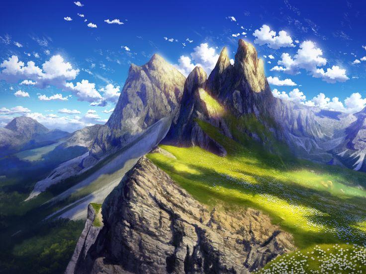 Anime Landscape 4k Wallpaper   Scenery wallpaper, Hd ...