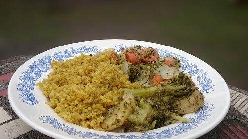 Quinoás zöldségragu