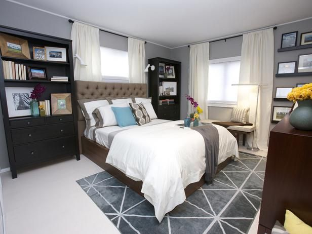 The bed platform: $1,500.   The rug: $3,000  The headboard: $3,500  Click through to see Sabrina Soto's budget version.Contemporary Bedrooms, Decor Ideas, Design Ideas, Sabrina Soto, Bookcas, Transitional Bedroom, Master Bedrooms, Eclectic Bedrooms, Bedrooms Ideas