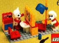 Fabuland - Beauty Salon [Lego 3623]