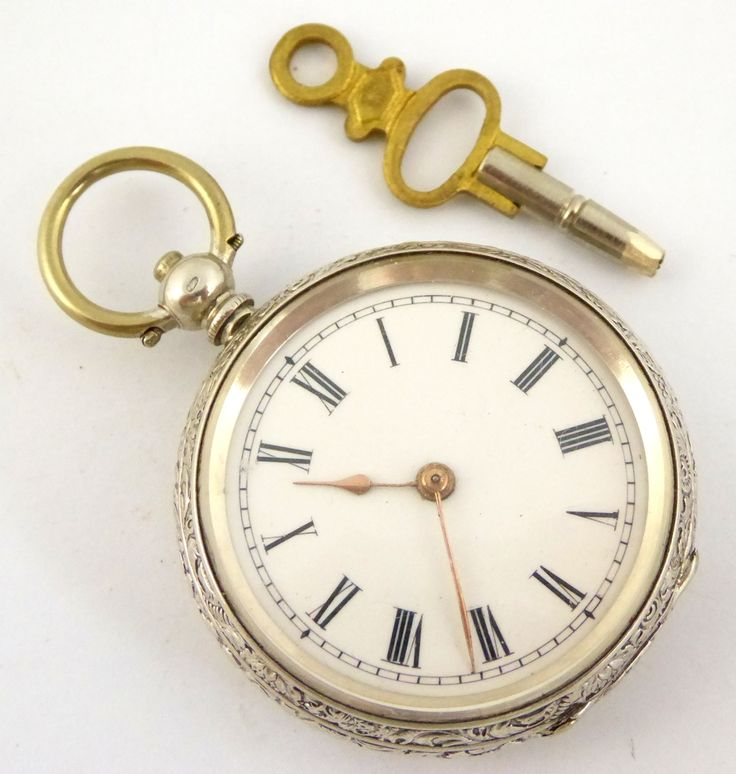 Late 1800s Antique .800 Swiss Hallmarked Silver Pocket Watch - The Collectors Bag