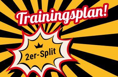 TRAININGSPLAN FitnessQueen (2er-Split für Frauen) im FitnessKing Fitnessstudio