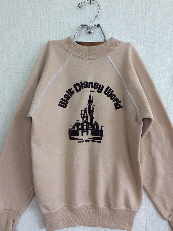 1970 s Child s Disney World Sweatshirt    vintage 70s Walt Disney ... 864ef861a