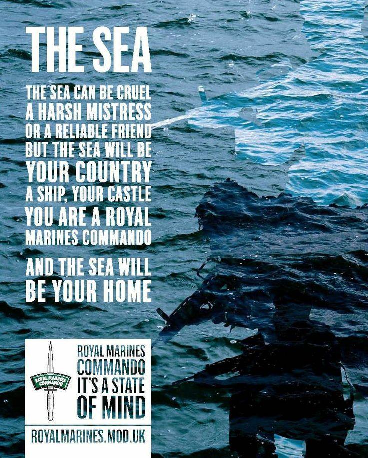 Royal Marines-Sea